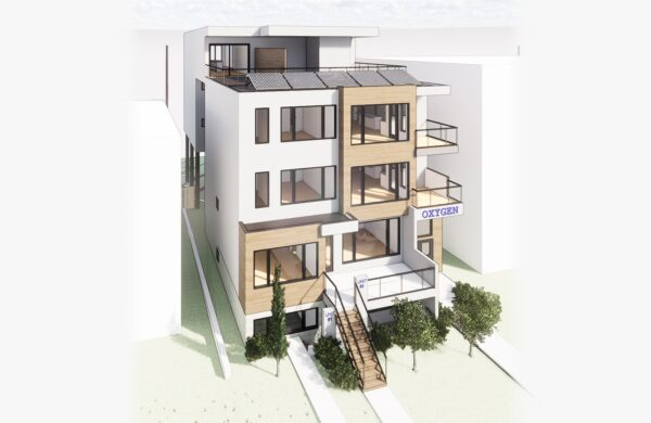 Calgary Home Design - Crescent Heights Rendering
