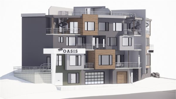 Calgary Home Design Mission Condos Rendering